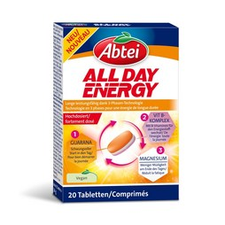 Abtei All Day Energy 20 Tabletten